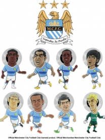SoccerSuckers - Manchester City FC Team