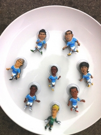 SoccerSuckers on a Plate