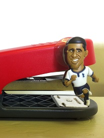 SoccerSuckers on a Stapler