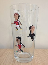 SoccerSuckers on a Glass