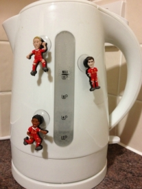 SoccerSuckers on a Kettle